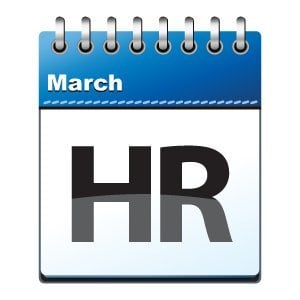 March HR Calendar | Trupp HR