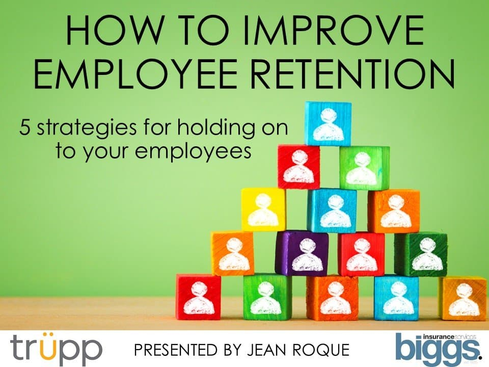 How to improve employee retention