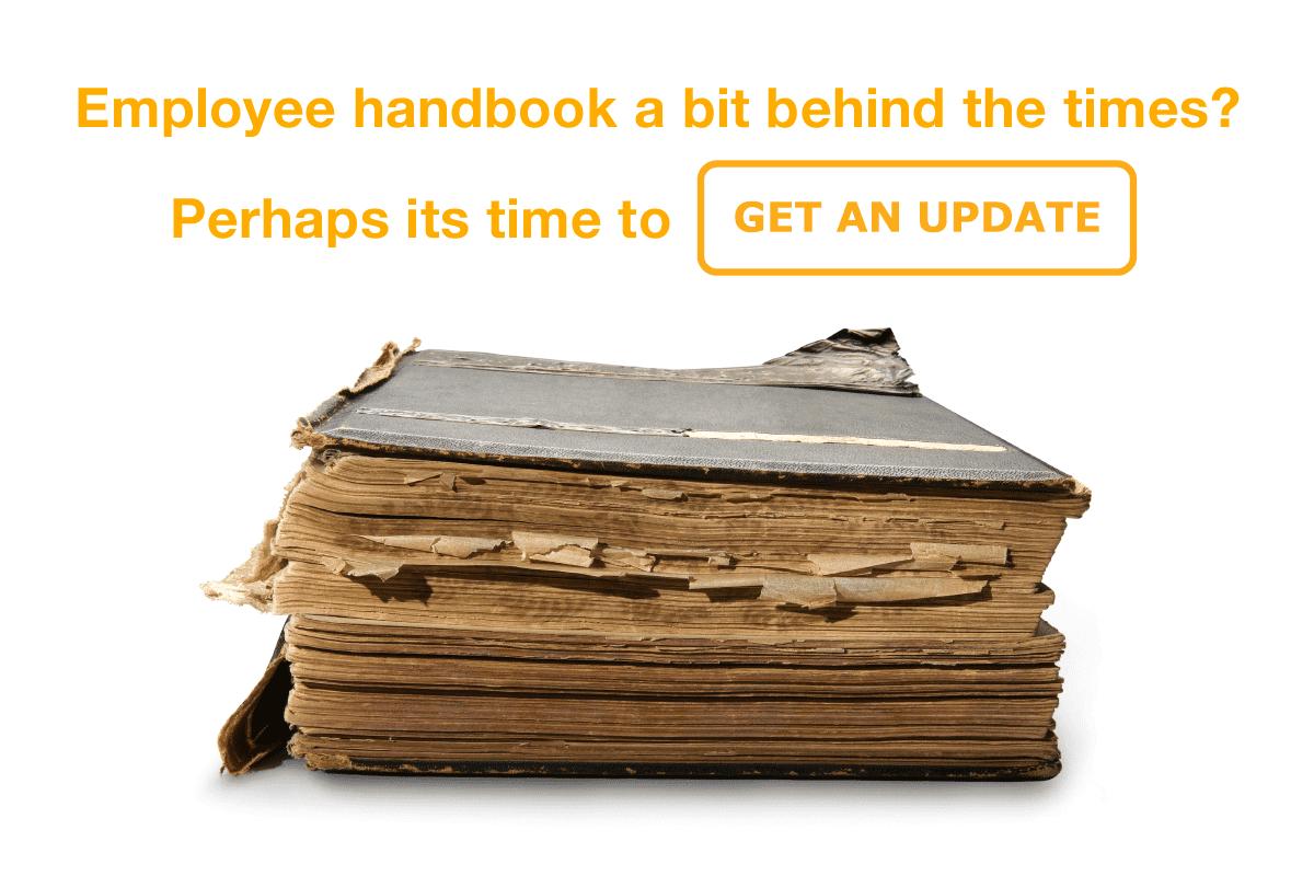 employee handbook update