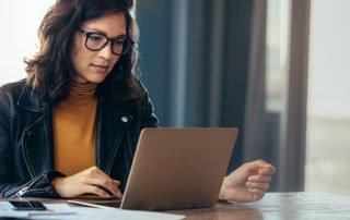 choosing benefit carriers woman working