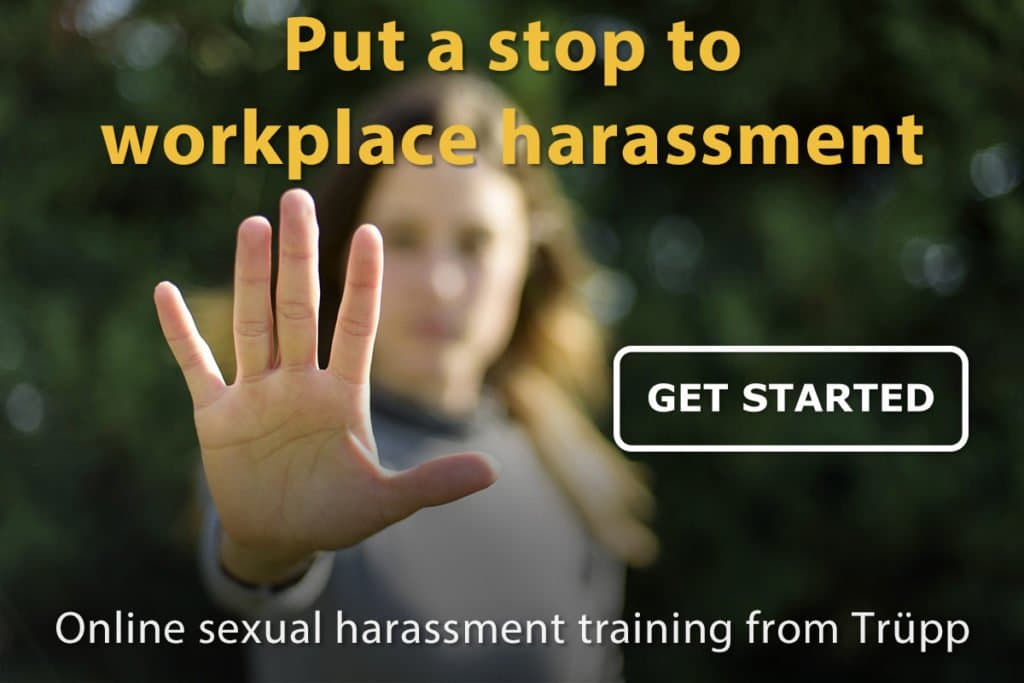 Discrimination and harassment training from Trupp