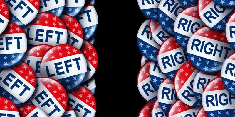 right v. left political conversations