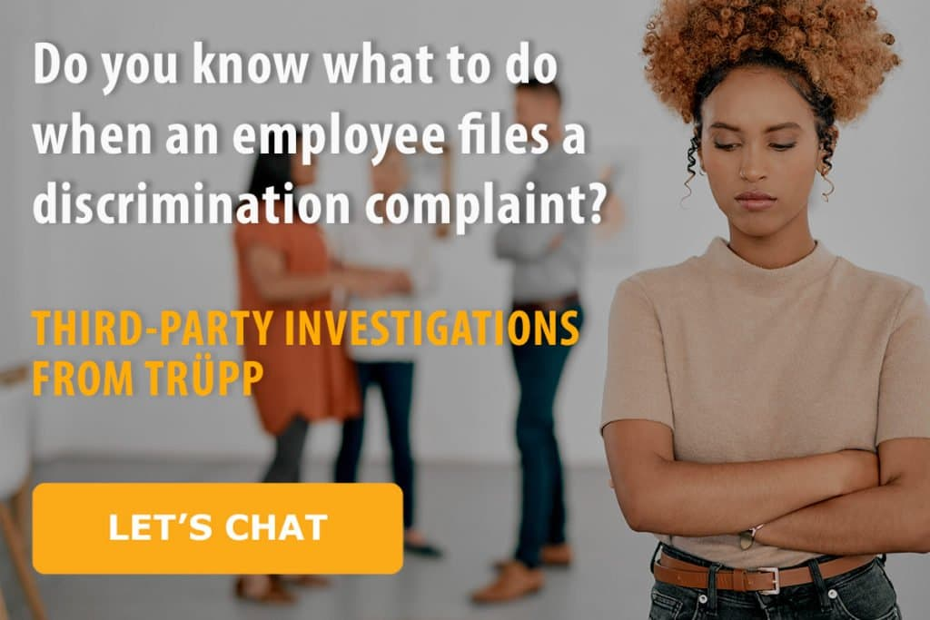 third-party investigations from Trupp