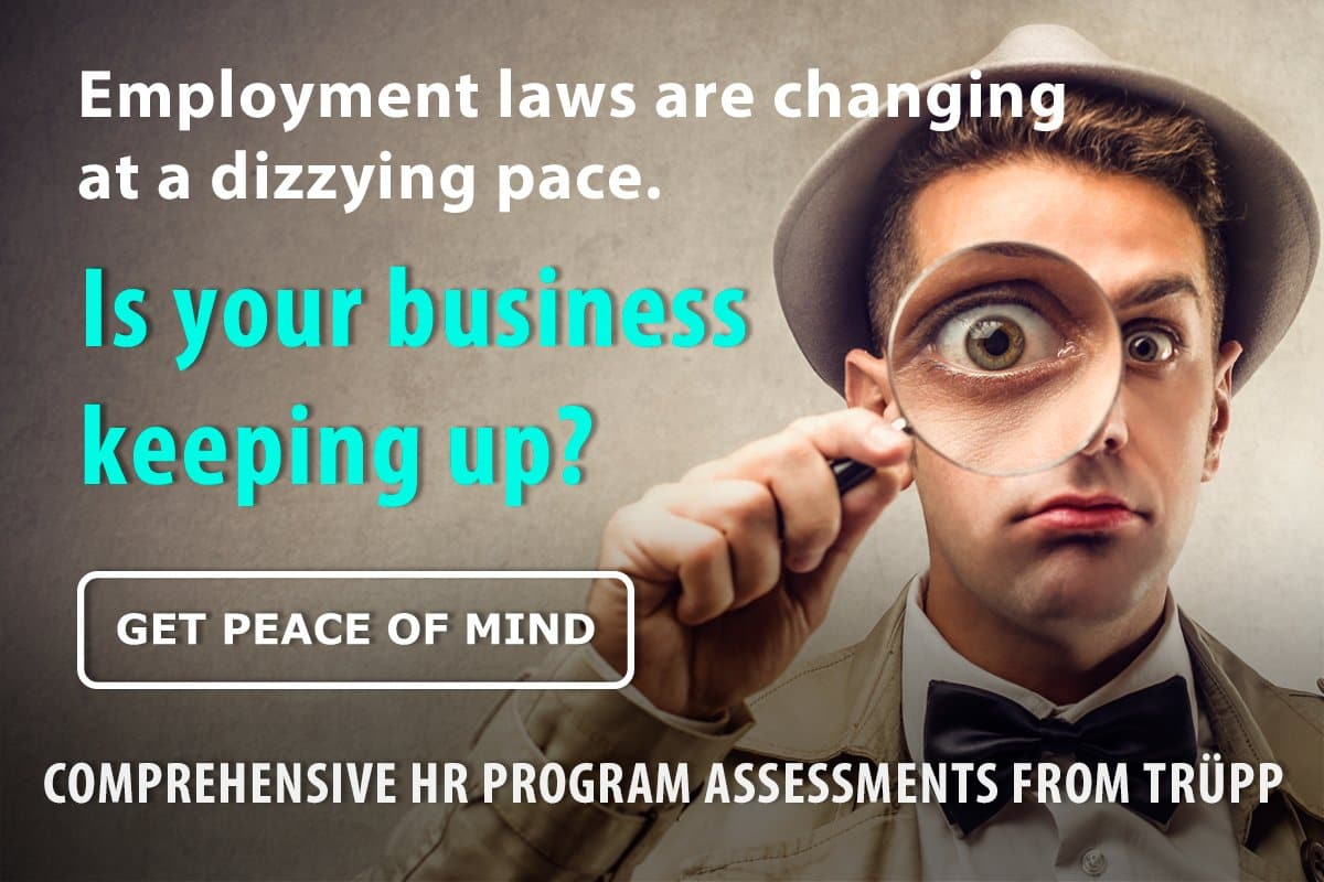 HR Audits | comprehensive HR program assessments from Trüpp