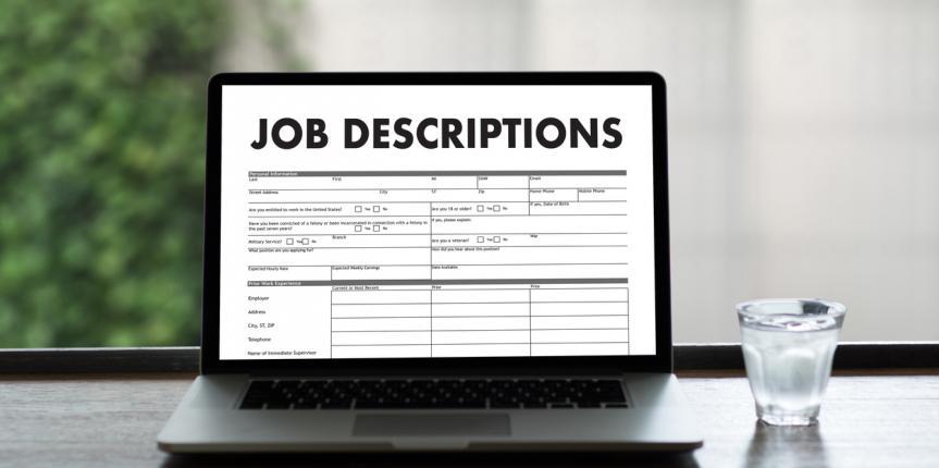 Why are job descriptions such a big deal?